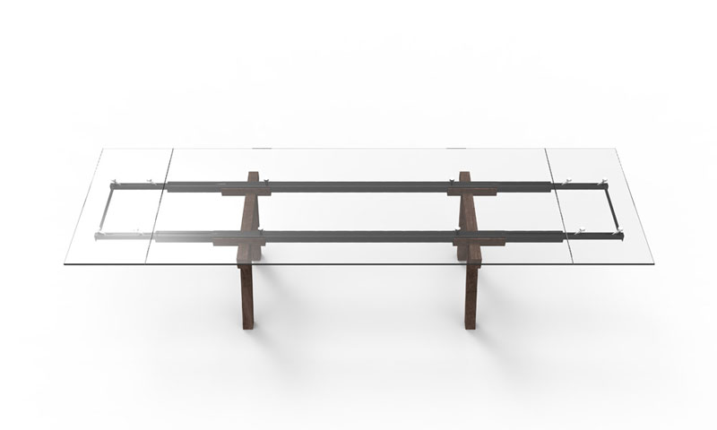 Tracks Table by Alain Gilles for Bonaldo