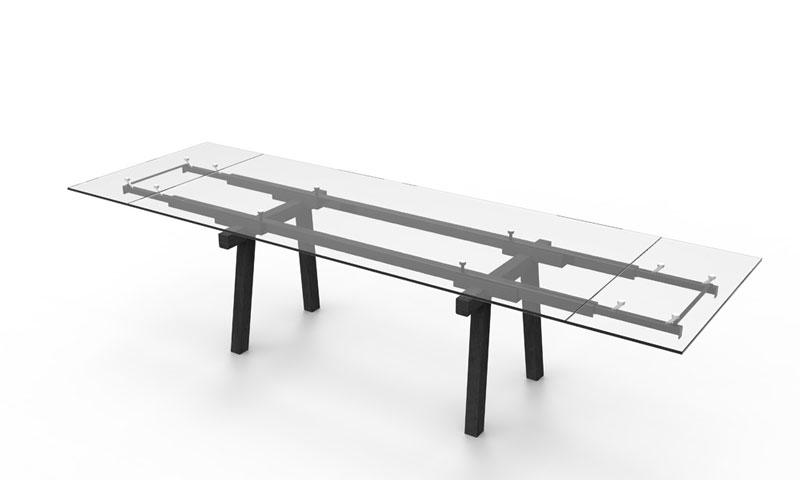 Tracks Table by Alain Gilles for Bonaldo