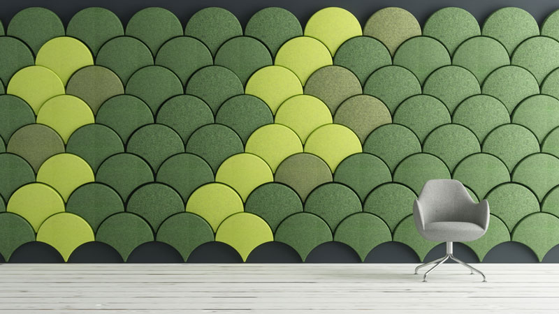 GINKGO Sound-absorbing panel by Blå Station