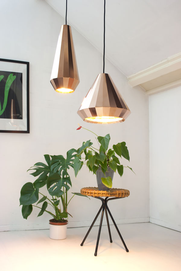 Copper Lighting Trend - David Derksen Copper Lights