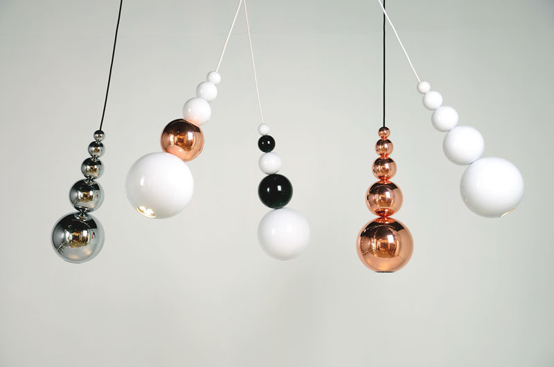 Copper Lighting Trend - Innermost Bubbles