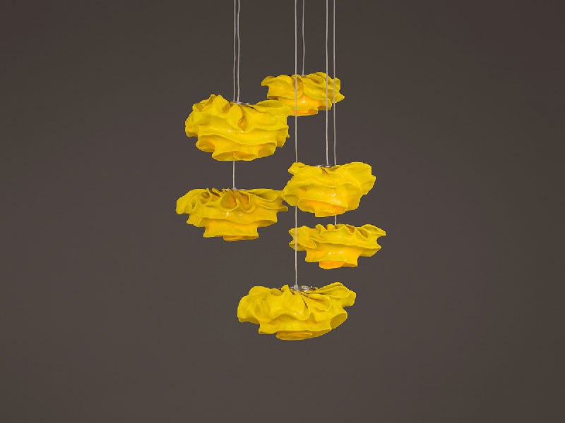 Nevo Pendant Lamp by Arturo Álvarez - Yellow