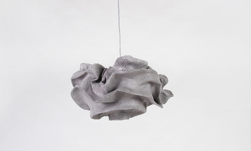 Nevo Pendant Lamp by Arturo Álvarez - Grey