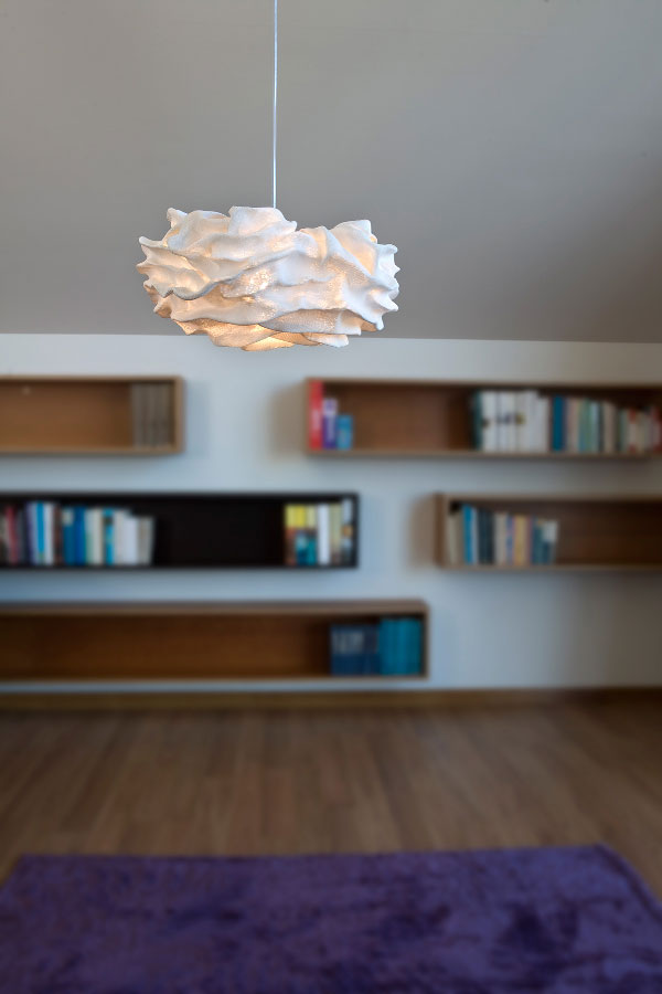 Nevo Pendant Lamp by Arturo Álvarez - White