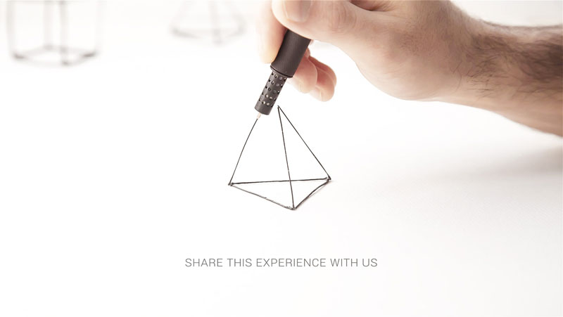 LIX 3D - World's smallest 3D Pen lets you doodle in the air