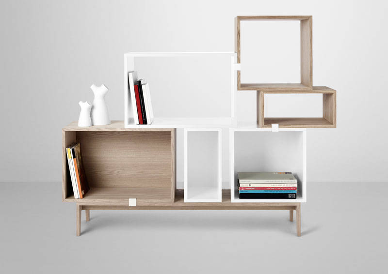 Stacked Shelving by JDS Architects for Muuto