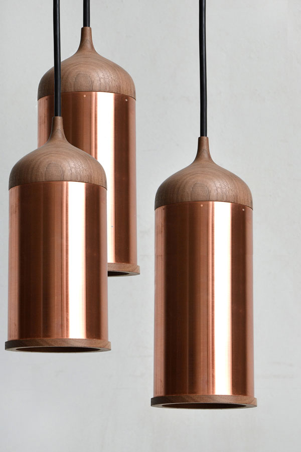 Copper Lighting Trend - Steven Banken Copper Lamp
