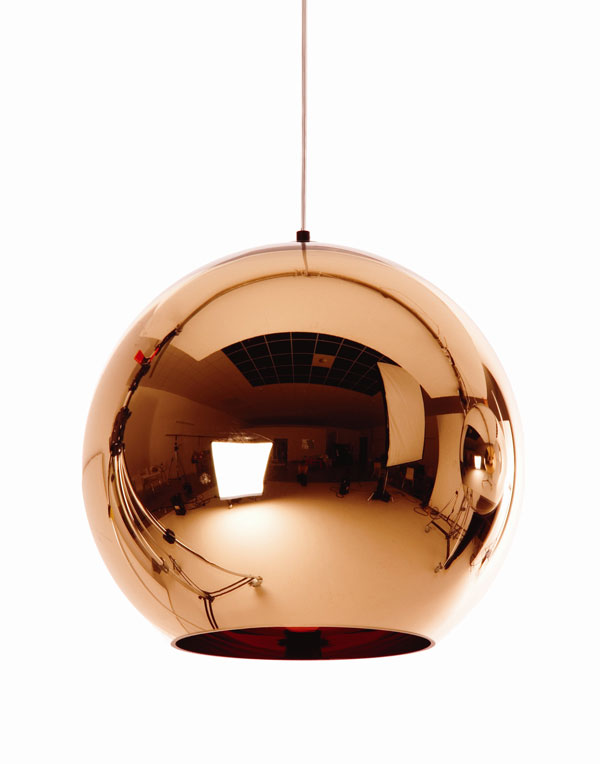 Copper Lighting Trend - Tom Dixon Copper Shade