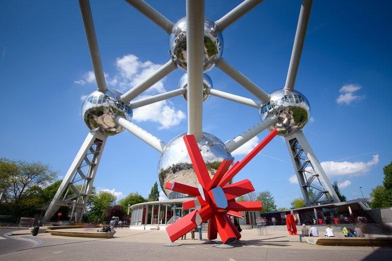 Arik Levy designs RockGrowth sculpture for Atomium in Brussels