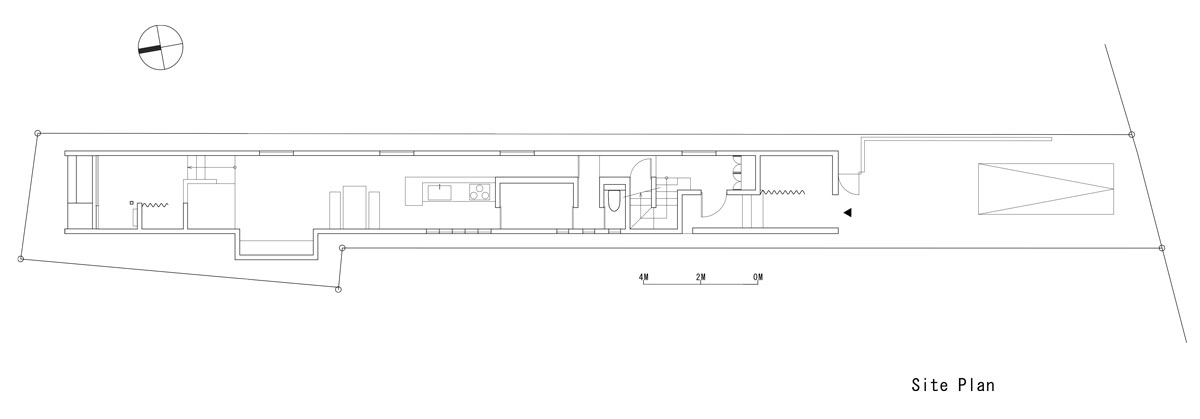 Promenade House by FORM/Kouichi Kimura Architects - Site