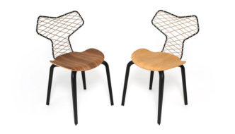 Fritz Hansen presents a homage to Grand Prix in collaboration with high-end fashion brand Han Kjøbenhavn