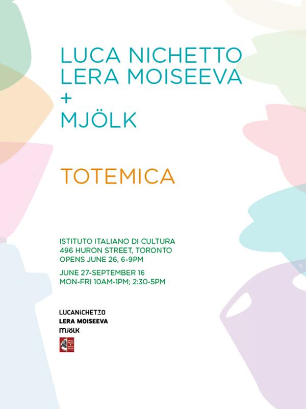 "Luca Nichetto Lera Moiseeva + Mjölk ""TOTEMICA"" Exhibition in Toronto"