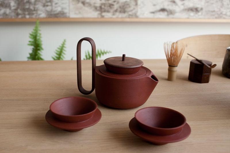 Aureola Tea Set by Luca Nichetto & Lera Moiseeva