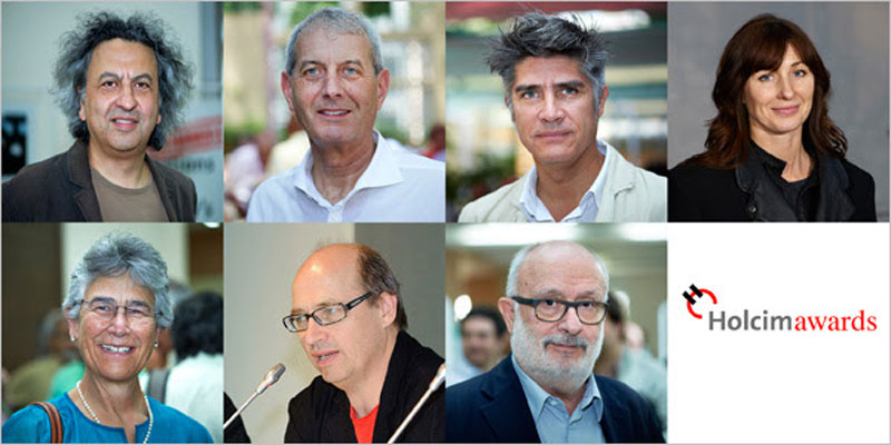 Members of the Global Holcim Awards jury 2015 announced