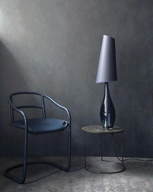 Lupin Table Lamp & Caribou Chair by Ochre