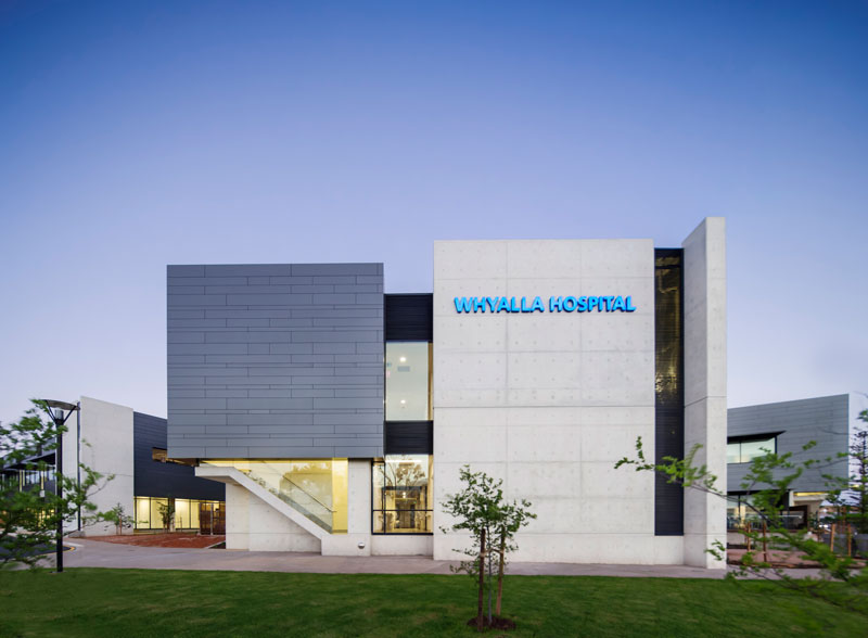 Whyalla Regional Cancer Centre Redevelopment by Hames Sharley - Australia - Completed Projects / Health