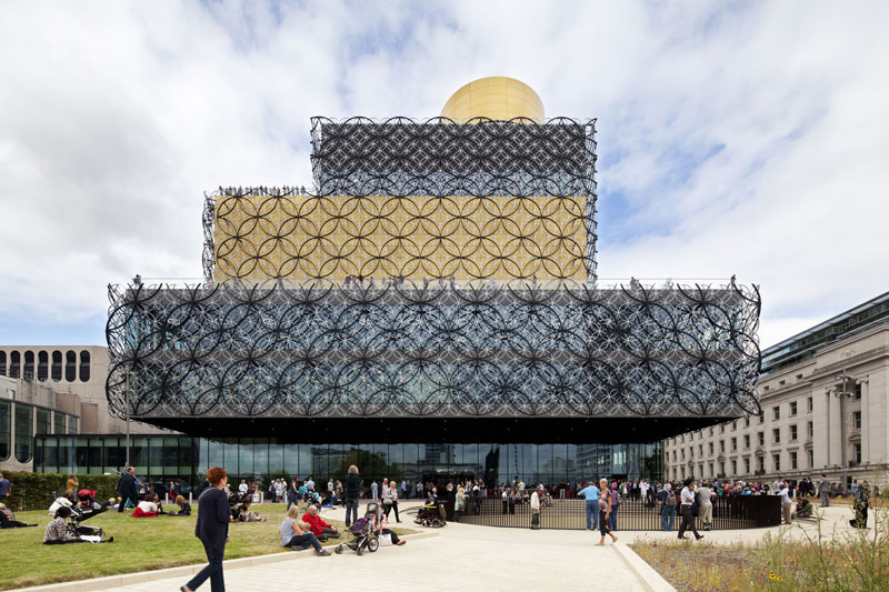 Library of Birmingham integrated with the Repertory Theatre by Mecanoo - United Kingdom - Completed Buildings / Culture
