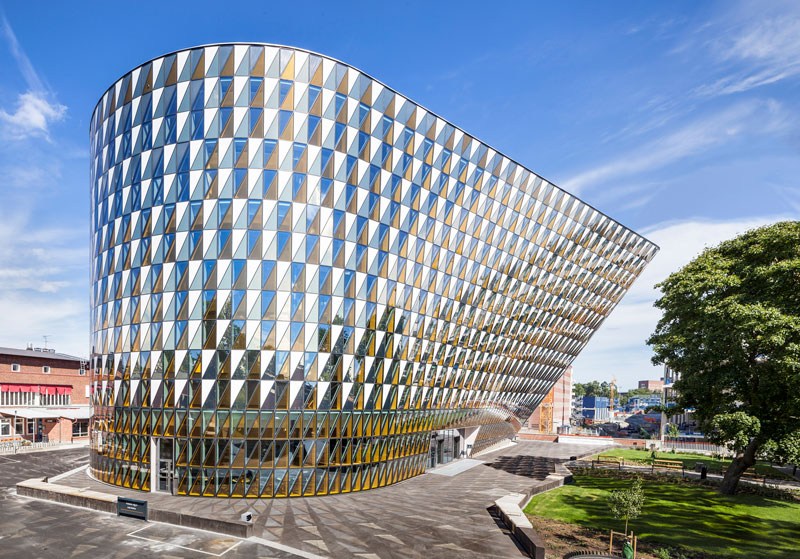 Aula Medica by Wingårdh Arkitektkontor - Sweden - Completed Buildings / Higher Education and research