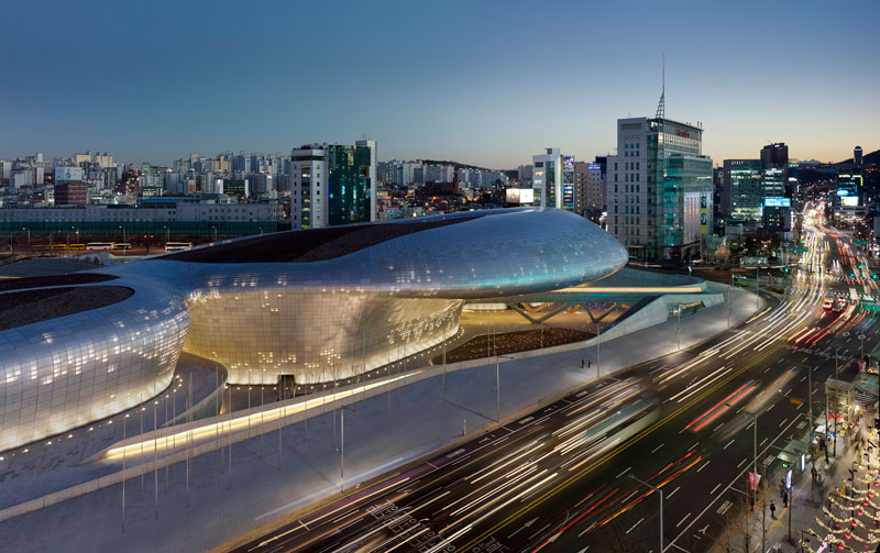 Dongdaemum Design Plaza by Zaha Hadid Architects - South Korea - Completed Buildings / Civic and Community