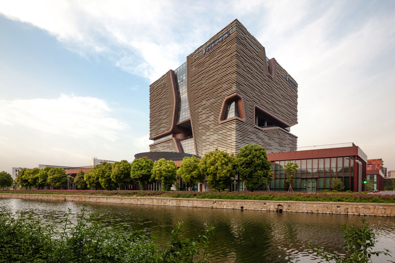 Xi'an Jiaotong-Liverpool University Administration Information Building by Aedas - China - Completed Buildings / Higher Education and Research