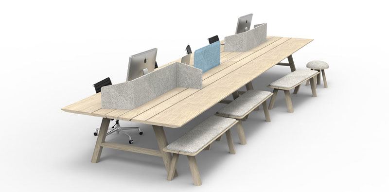 BuzziPicnic Table by Alain Gilles for Buzzispace