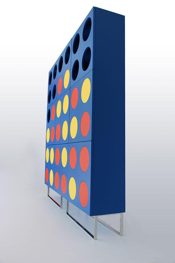 DISK36 - A unique game inspired storage unit by E1+E4