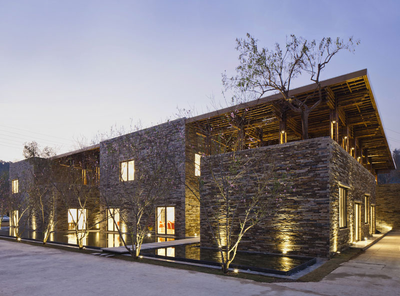 Son La Restaurant by Vo Trong Nghia Architects - Vietnam - Completed Buildings / Hotel and Leisure