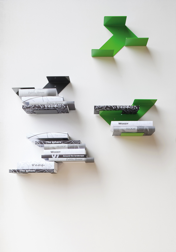 Fin modular shelf by B-LINE