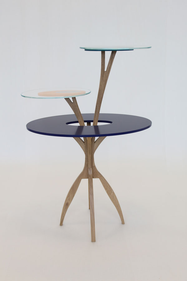 Climber Side Table by Enrico Mangialardo for E1+E4
