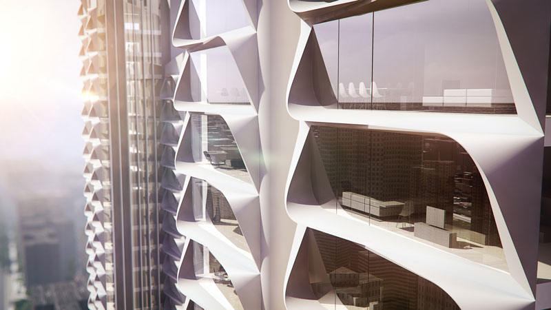 Grove Towers by 3XN