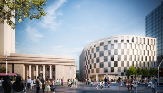 First Arena Central Building by make wins planning