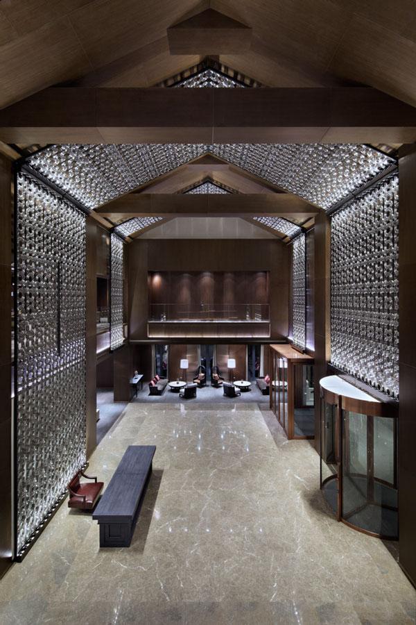 Lasvit Crystal Wall by Koncern Design Studio - Beijing Jinren Clubhouse