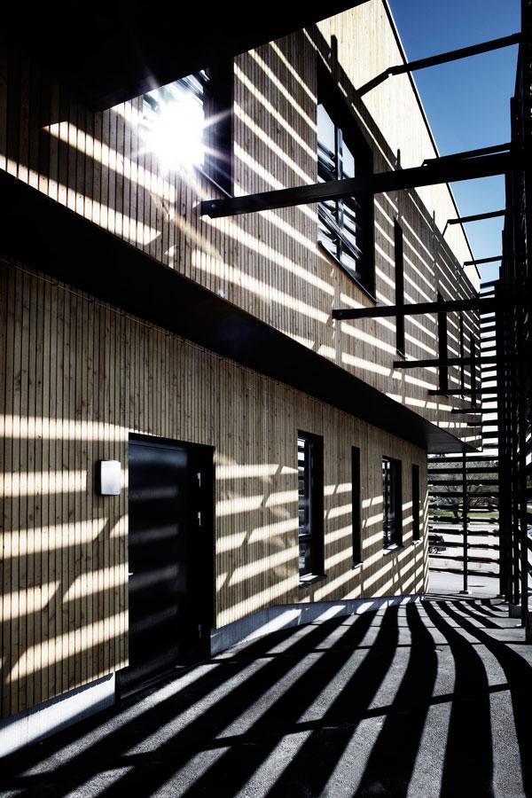 Dalarna University Media Library by ADEPT - Double Facade