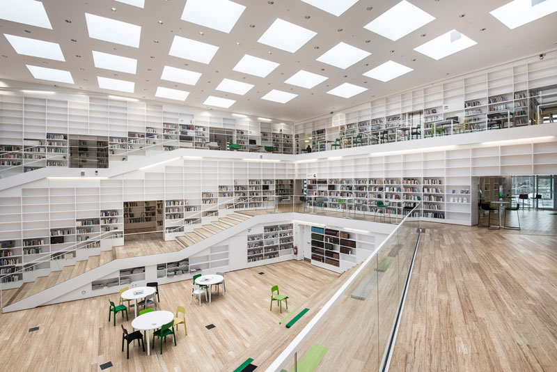 Dalarna University Media Library by ADEPT - Arena