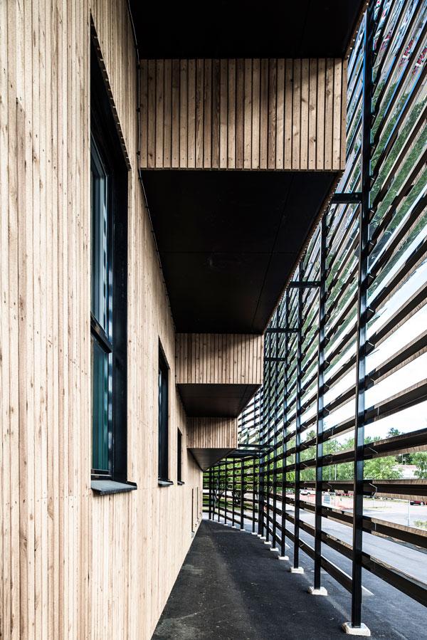 Dalarna University Media Library by ADEPT - Space between facades