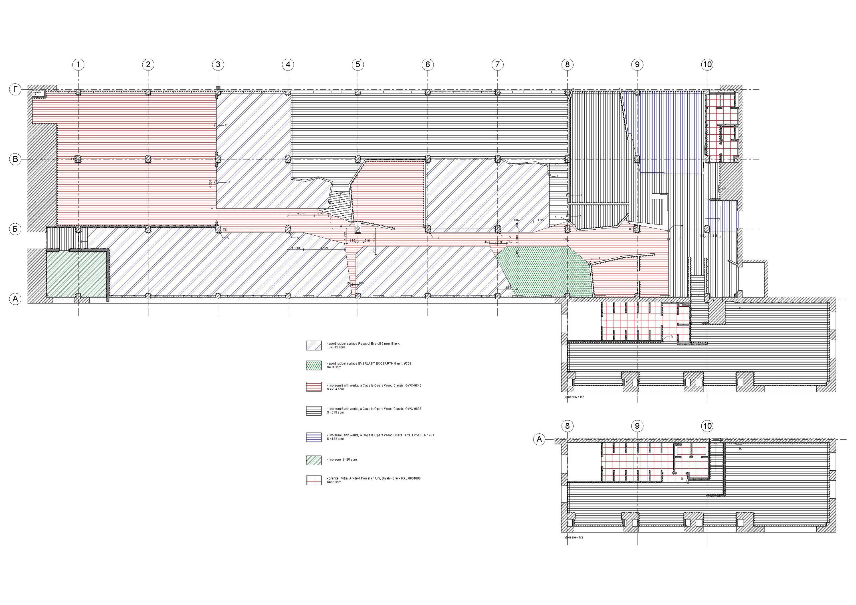 Smena Fitness Club by za bor architects