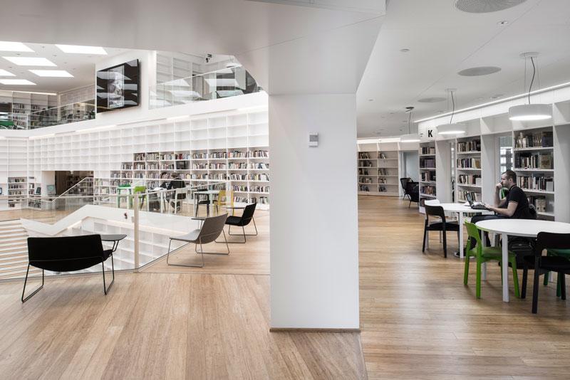 Dalarna University Media Library by ADEPT - Spatial Layers