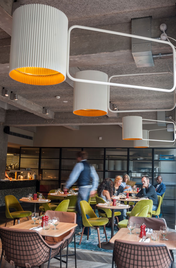 Stephen Street Kitchen - Restaurant at British Film Institute by Softroom and .PSLAB