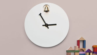 DINN 'Musical' Clock by Alessandro Zambelli for Diamantini & Domeniconi