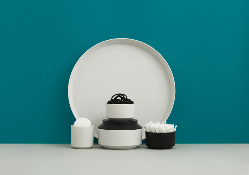 Geo Bath Accessories by Normann Copenhagen