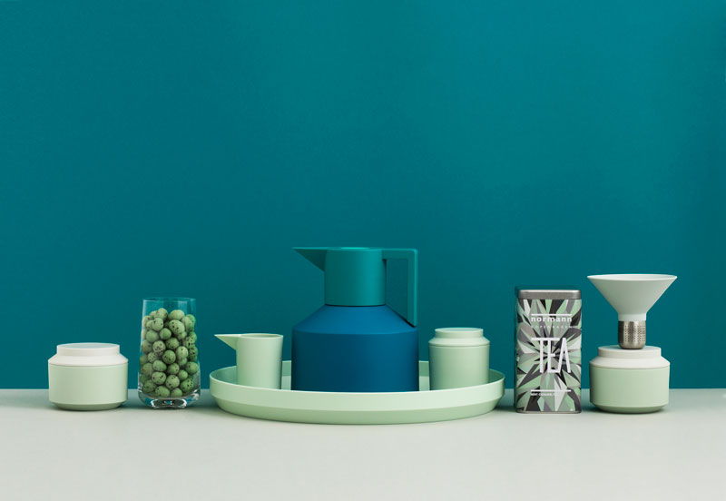 Geo Mint Blue Tea Party by Normann Copenhagen