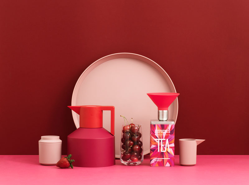 Geo Tea Party Blush by Normann Copenhagen