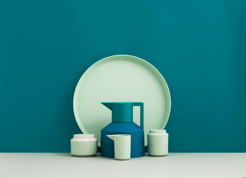 Geo Tea Time Mint by Normann Copenhagen