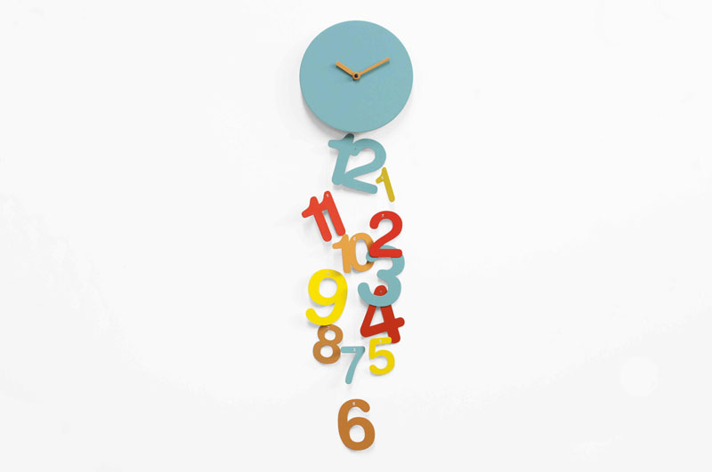 Line Clock by Eloisa Libera for Progetti