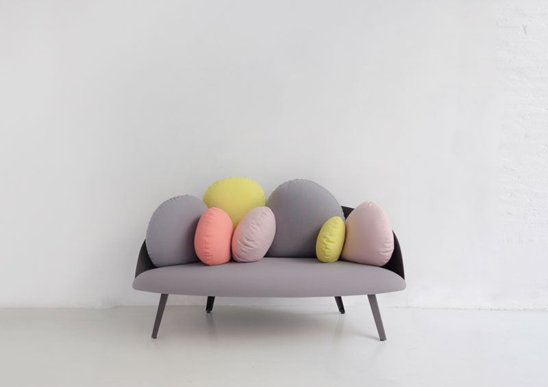 Nubilo Sofa by Constance Guisset for Petite Friture
