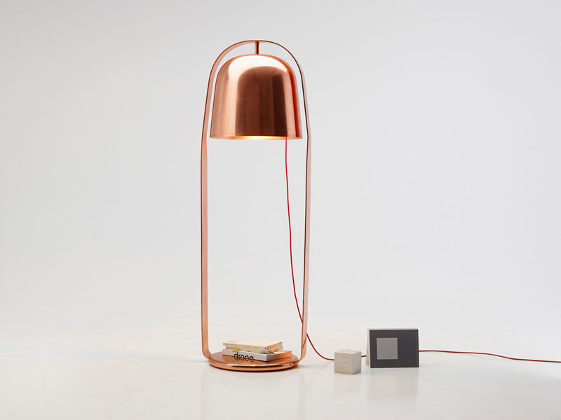 Bella Standing lamp by Lucie Koldova for PER/USE