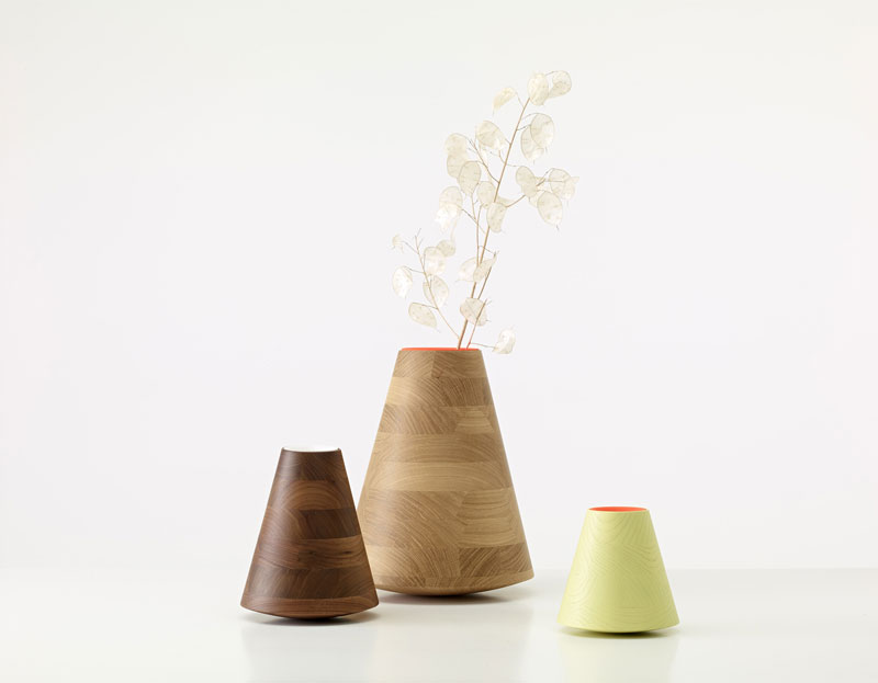 Etna vases by Frédéric Richard for PER/USE