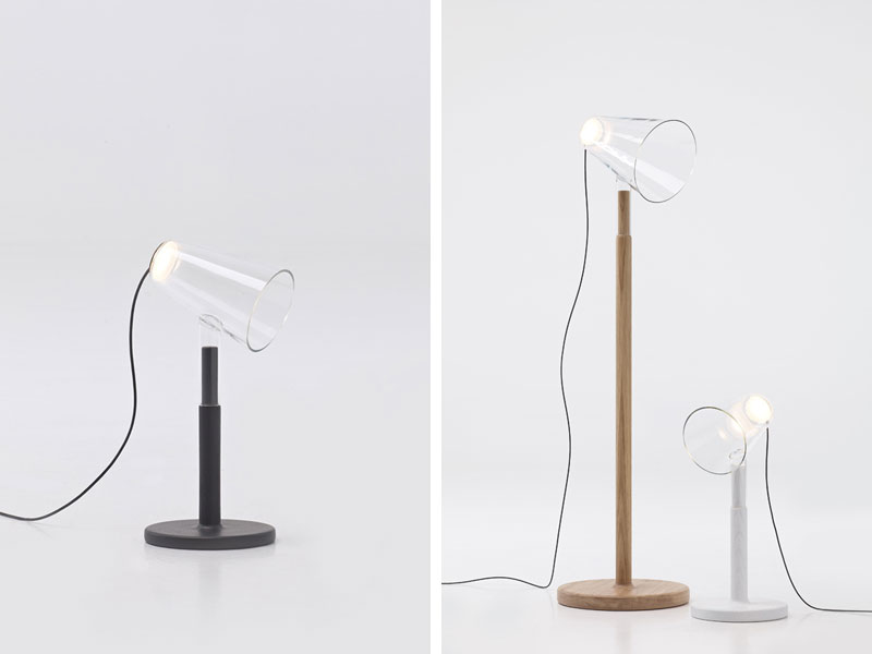 The Siblings lamps by Frederik Delbart for PER/USE