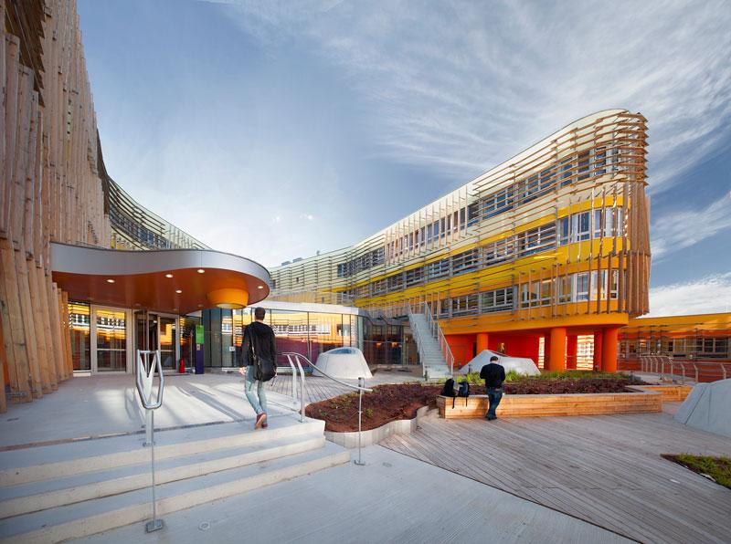 CRAB Studio designs new buildings for Vienna University of Economics & Business