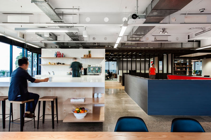 Clemenger BBDO Office Space by HASSELL